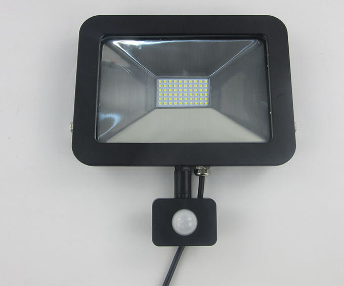 Waterproof IP65 Floodlight LED Outdoor 30W with Sensor (AC 30W SMD)