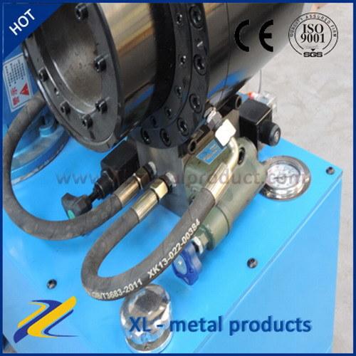 rubber hose crimping machine