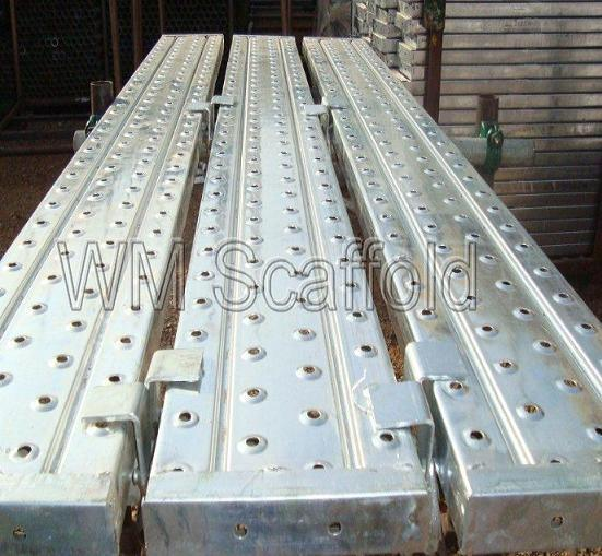 Advanced Walking Scaffolding Boards : China gi metal deck walking board catwalk scaffold plank