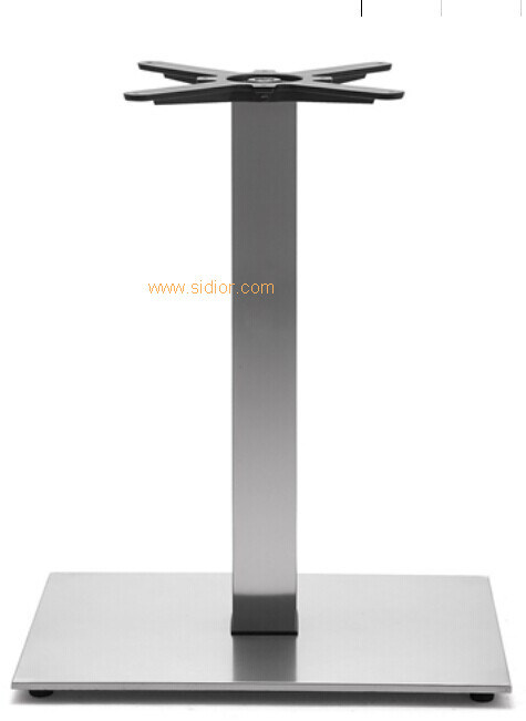 (SC-734) Restaurant Dining Furniture Base Stainless Steel Metal Table Legs