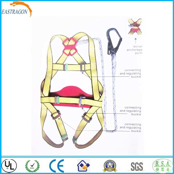 Harness Lanyard Inspection Harness With Rope Lanyard