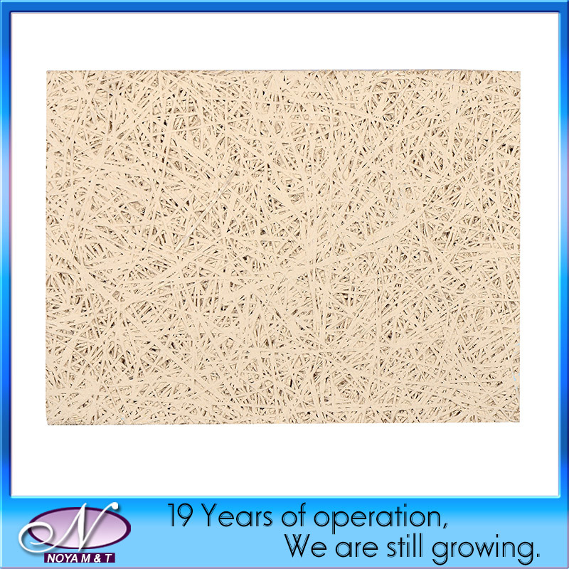 Acoustic Decorative Fiber Wood Wool Cement Ceiling Concrete Board