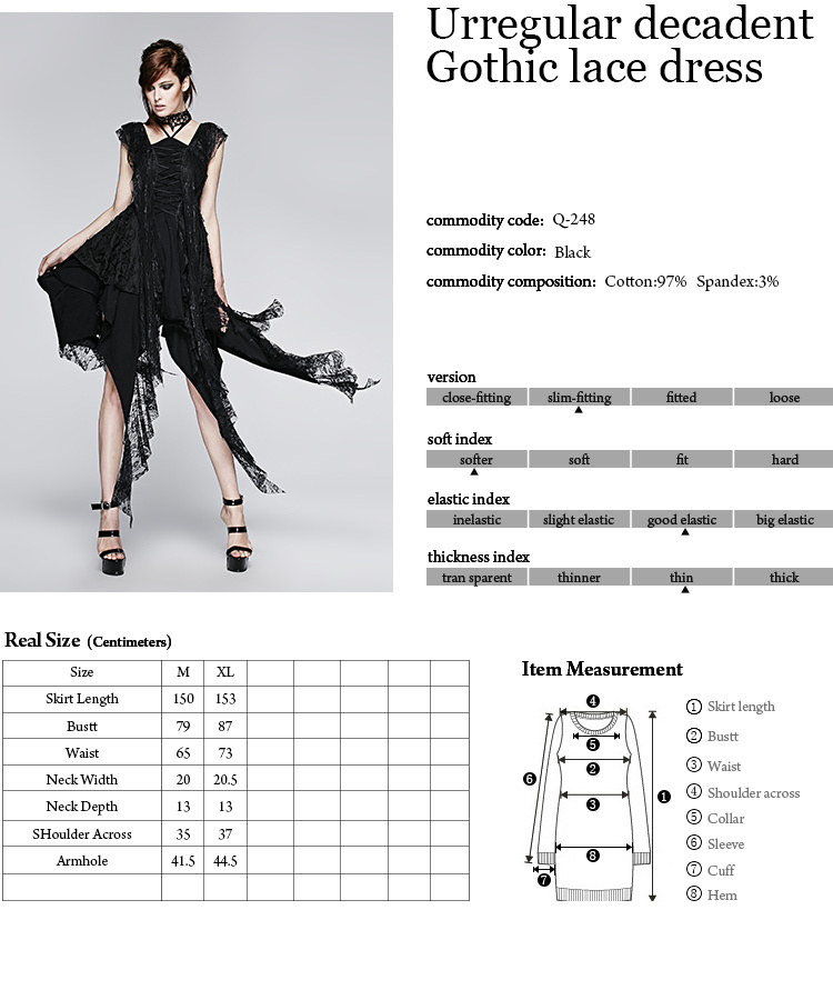 Vestido De Noite Escuro G Tico Do Projeto Original Novo Da Forma Q 248 Vestido De Noite