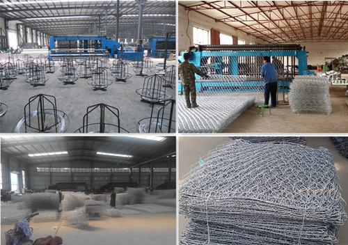 Factory Hot Sale ASTM A975 Galvanized Gabion Cages/Gabion Basket