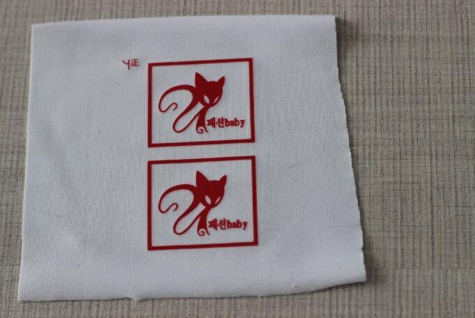 China custom t shirt single color t shirt stickers for Heat transfer labels for t shirts