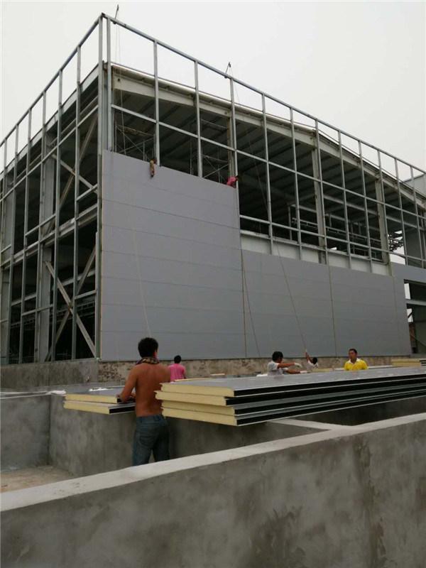 Polyurethane Foam PU Sandwich Board for Wall and Roof/Ceiling