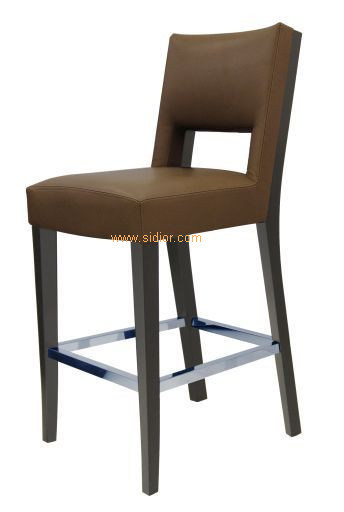 (CL-4405) Classic Hotel Restaurant Club Furniture Wooden High Barstool Chair