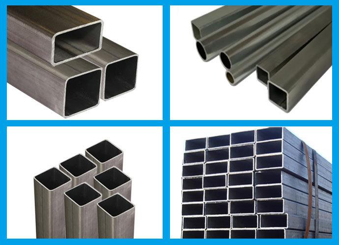 100 x 100 mm tube carr en acier au carbone pour mat riaux de construction en m tal 100 x 100. Black Bedroom Furniture Sets. Home Design Ideas