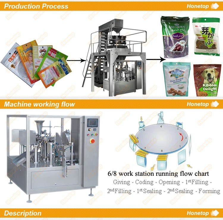 Automatic Candy Packaging Machine Ht-8g