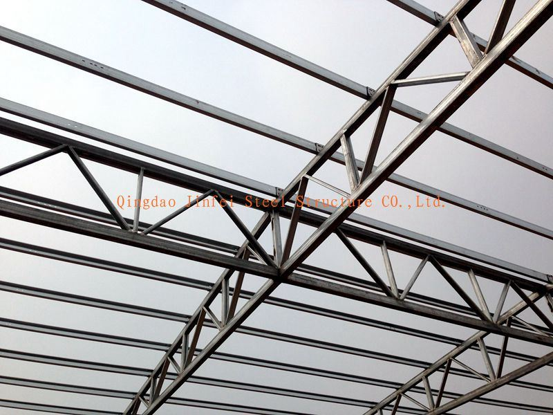 China Galvanized Pre Engineered Buildings Steel Trusses