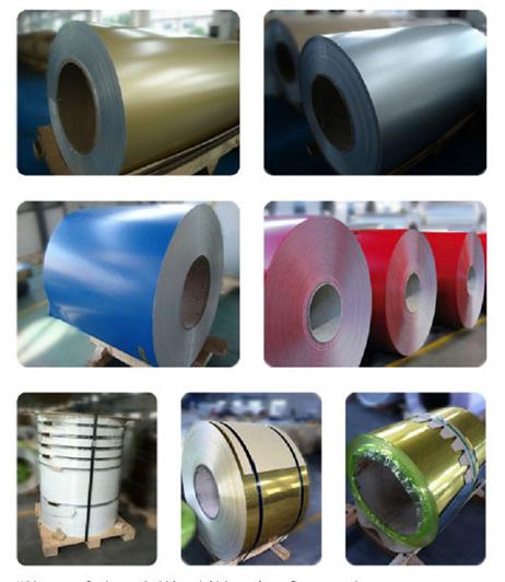 China Ideabond Pvdf Pe Color Coated Aluminum Coil China