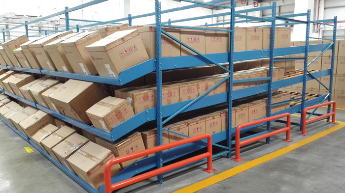Carton Flow Rack with Fifo Live Storage