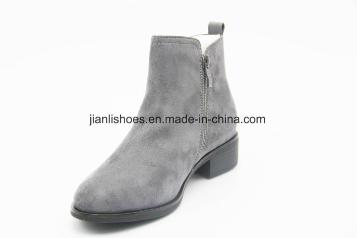 2018aw Women Zipper Rivet Ankle Boots (AB605)