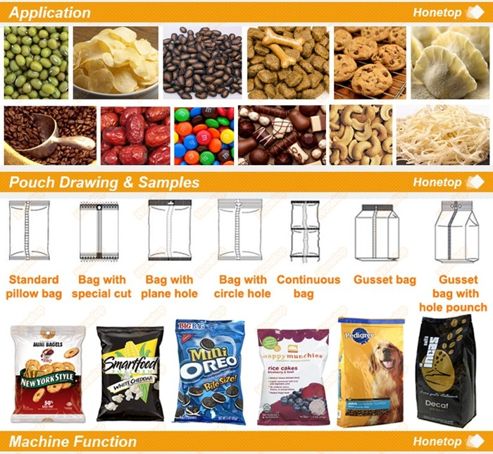 Pouch Packing Machine for Pet Food