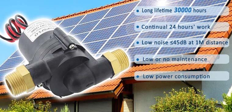 China Solar Mini Pump Brushless Dc Mini Water Pump