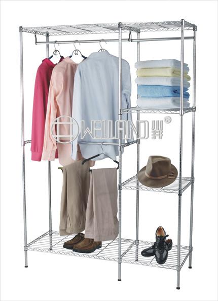 plastic garment rack cover