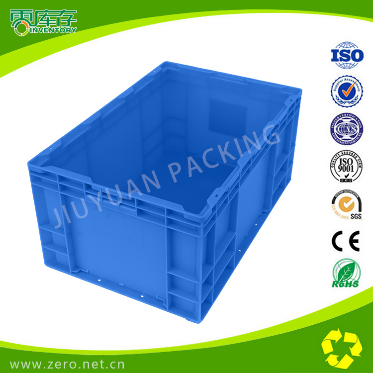 Supermarket Plastic Turnover Boxes For Vegetables And Fruit