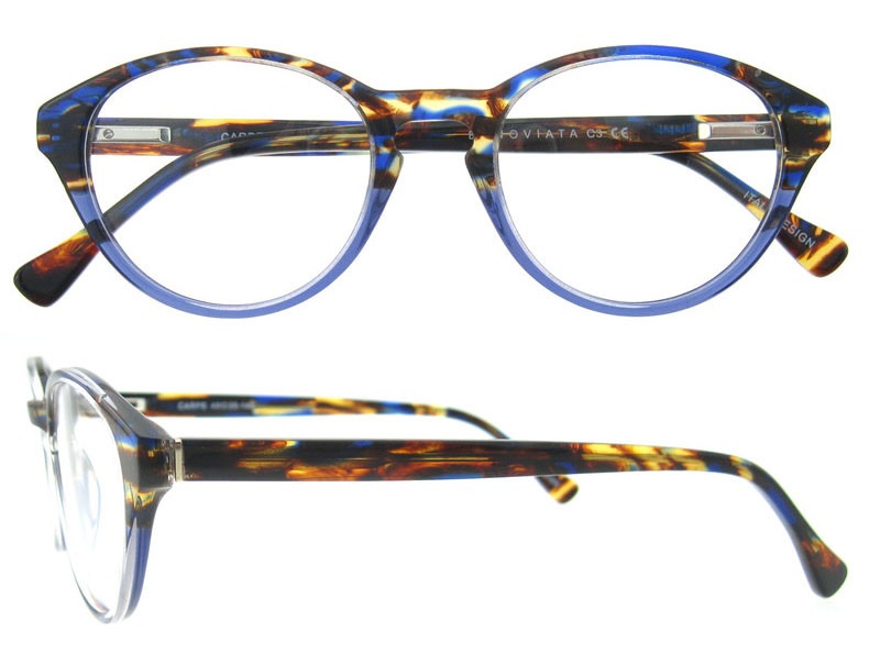 Glasses Frame Maker Italy : China 2017 Italy Design Bright Color Acetate Eyeglasses ...