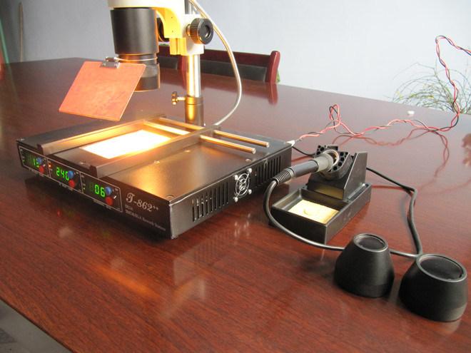 Infrared Rework Station t 862 t 862 Bga Rework Station