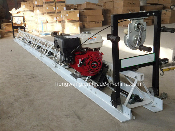 Gasoline Power Type Self Levelling Floor Screed Vibratory Concrete Truss Screed
