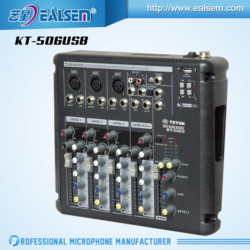China High Glass Kt-80DSP PRO Power Mixing Console Series - China 8