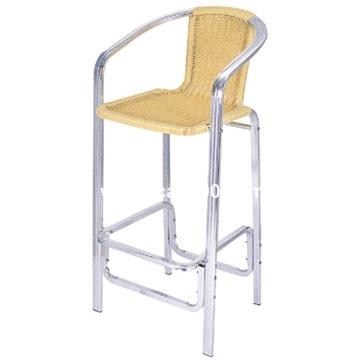 tabouret de barre en osier en aluminium ab 06010 tabouret de barre en osier en aluminium ab. Black Bedroom Furniture Sets. Home Design Ideas