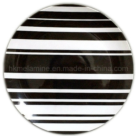 China 8inch Melamine Dinner Plate with Logo - China Dinner ...