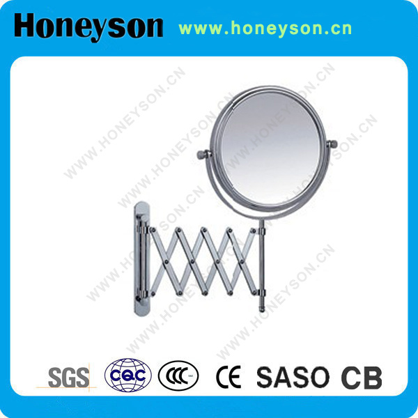 Shaving Mirror with Extensible Handle for Hotel Use