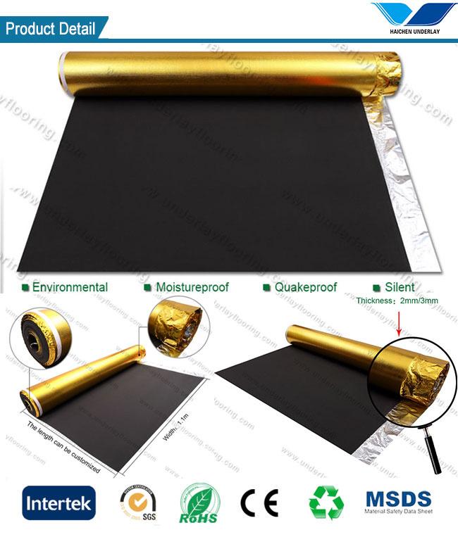 china 3mm eva foam acoustic floor underlay for bamboo flooring