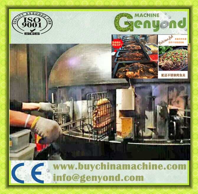 China charcoal grilled fish oven china grilled fish oven for Oven temperature for fish
