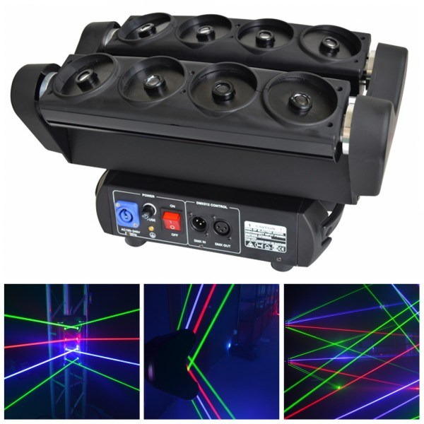 3w Cartoon 3d Rgb Colorful Stage Laser Light China