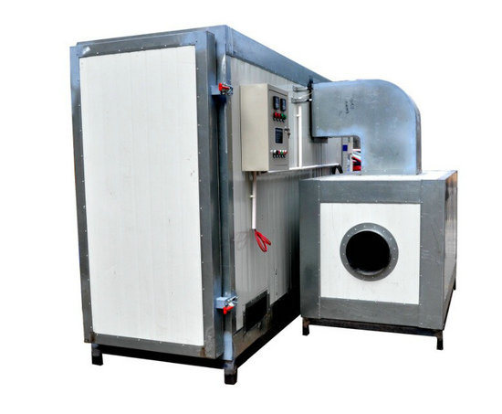 China lpg gas heating type industrial powder coating for Paint curing oven