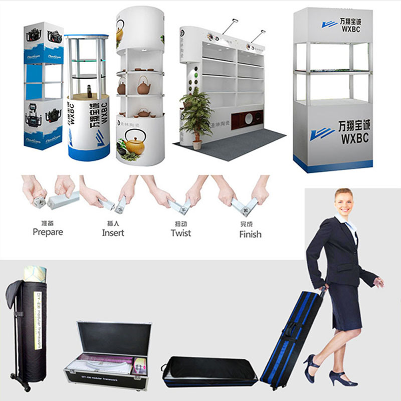 Portable Exhibition Booth Design : China special portable reusable exhibition booth design