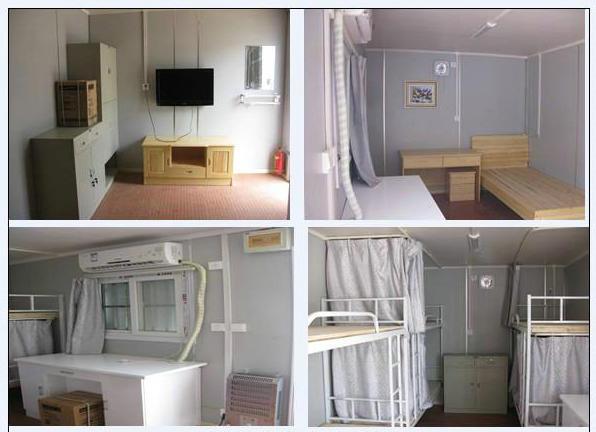 Prefab Modular Container Casa En Resto De Habitaciones Con