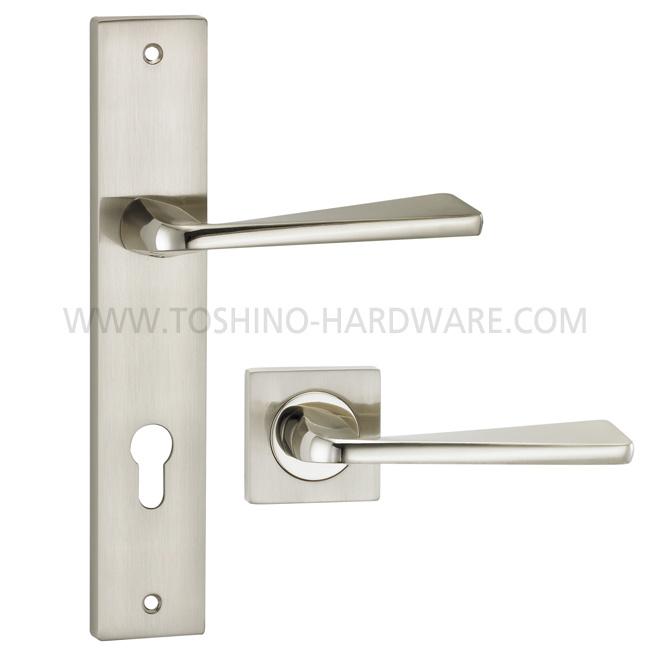 Yale Lock Puller : China zinc alloy door lock handle on square rosettes