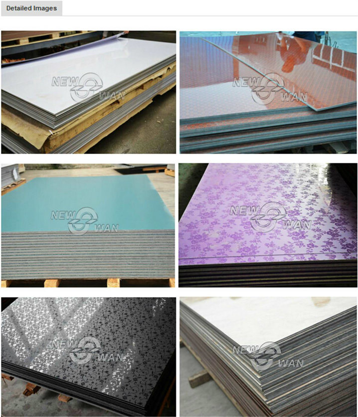 glossy and matt formica high pressure laminate board