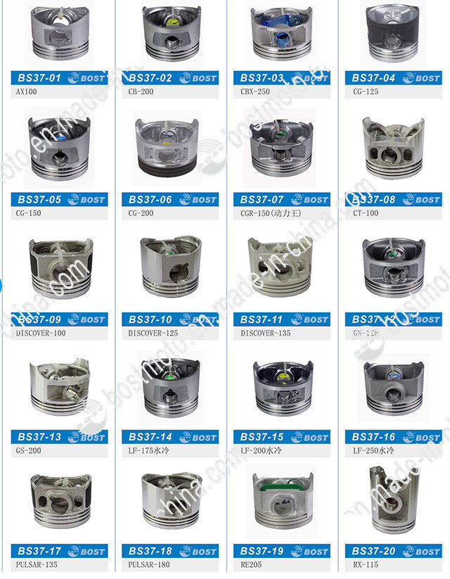 china motorcycle parts piston for motorcycle 3w