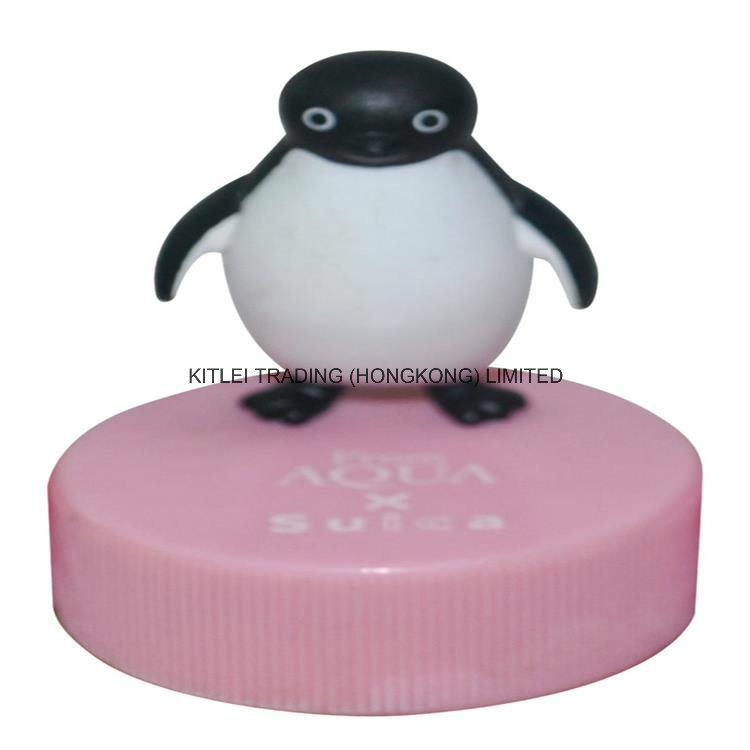 High-Quality Rubber Inflatable Plastic Cartoon Mini PVC Vinyl Penguin Toy