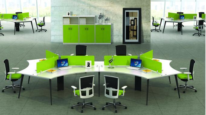 China Model Style Premium Staff Partition Workstations