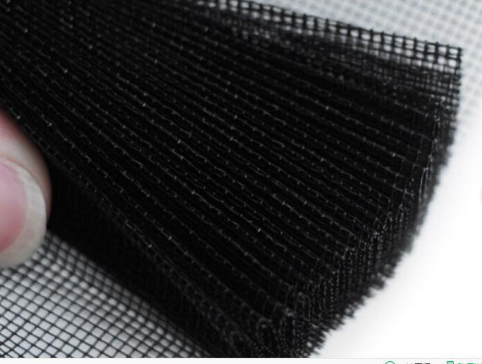 China Aluminium Frame Pleated Lace Yarn Insect Screen