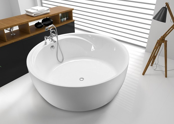 Vasca da bagno rotonda tcb046d di grande formato vasca - Vasca da bagno grande ...