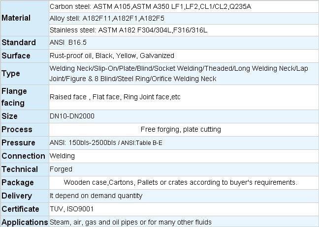 Carbon Steel Weld Neck Flange (DN 80)