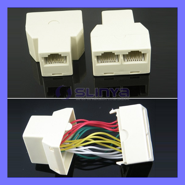 8p8c-RJ45-Coupler-Network-Ethernet-Split