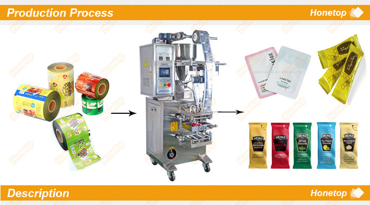 Small Liquid Packaging Machine for Jelly