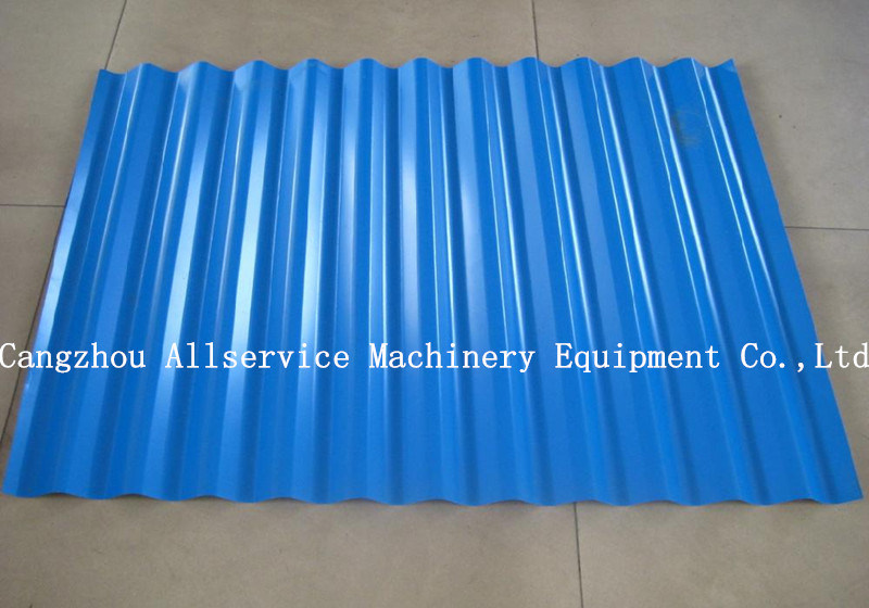Corrugated Tile Roll Forming Machine for Metal Roofing Sheet (850)