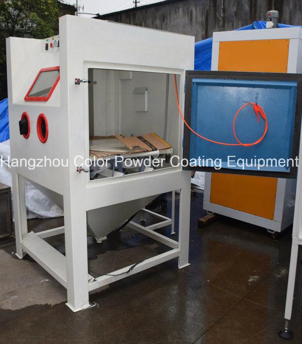 China Suction Sandblasting Cabinet Machine China