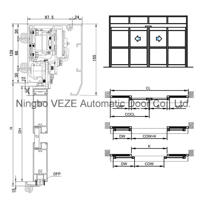 automatic sliding door  automatic sliding door installation
