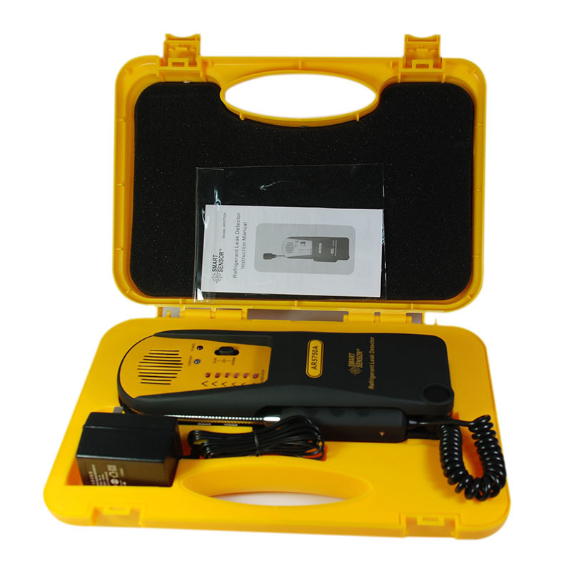 Portable Electronic Refrigerant Leak Detector : China portable refrigerant gas leak detector ar a