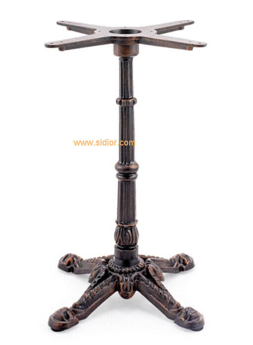 (SC-708-4) Restaurant Dining Furniture Base Cast Iron Metal Table Legs