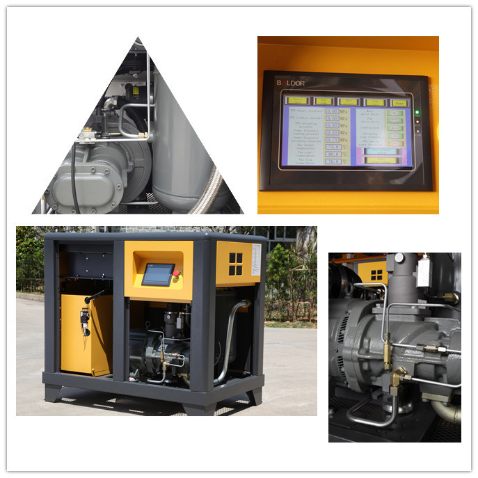 Variable Speed Driven Screw Air Compressor with Pm Motor